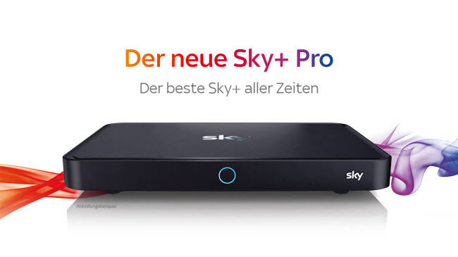 Gratis Sky Pro Receiver Mit Sky Entertainment Oder Hd
