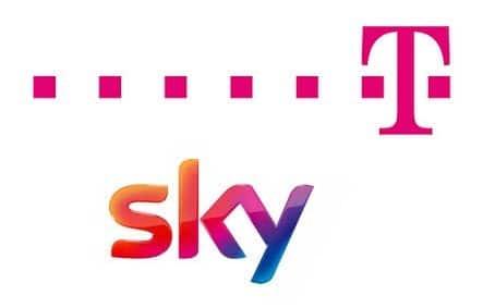 Sky über Telekom