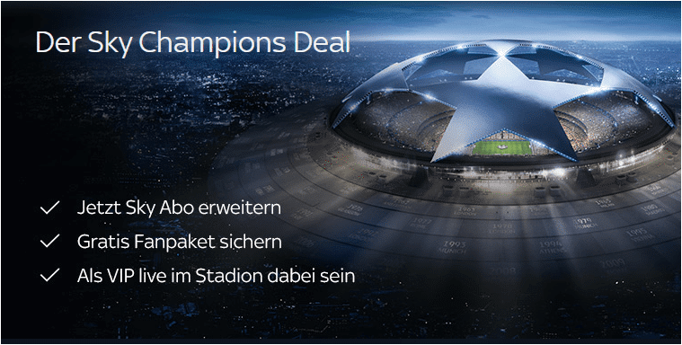 Sky Champions Deal
