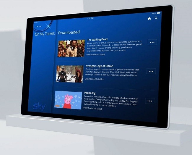 Sky Q Hub Mini Tablet