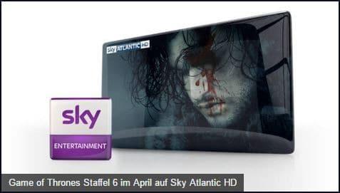 Sky Game Of Thrones Staffel 6