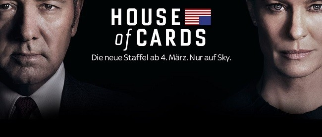 House of Cards bei Sky