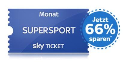Sky Supersport Ticket Angebot