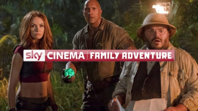Sky Cinema Family Adventure Hd Familienunterhaltung Mit Jumanji