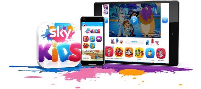 Sky Kids App Für Tablet Mit Inhalten Für Kinder