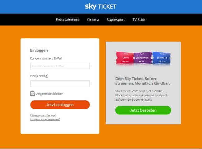 Sky Festnetznummer