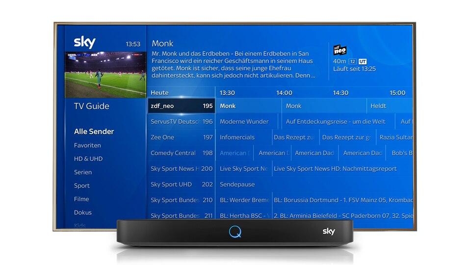 Sky Fernsehprogramm