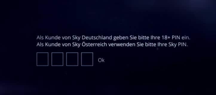 Sky 18 Kosten